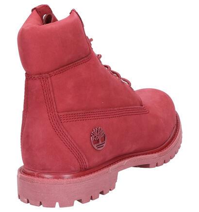 Timberland 6 Inch Premium Grijze Boots in nubuck (255340)