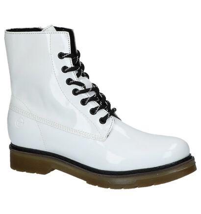 Stoere Boots Wit Tamaris in imitatieleer (229843)