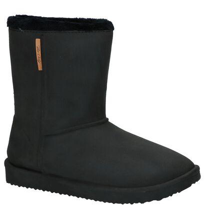 Zwarte Boots Be Only Cosy in kunstleer (224076)