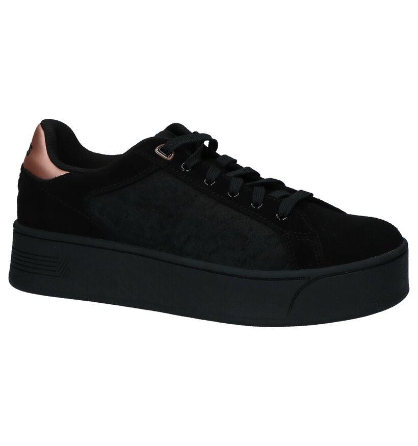 Geklede Sneakers K-Swiss Dalia Zwart in daim (225409)