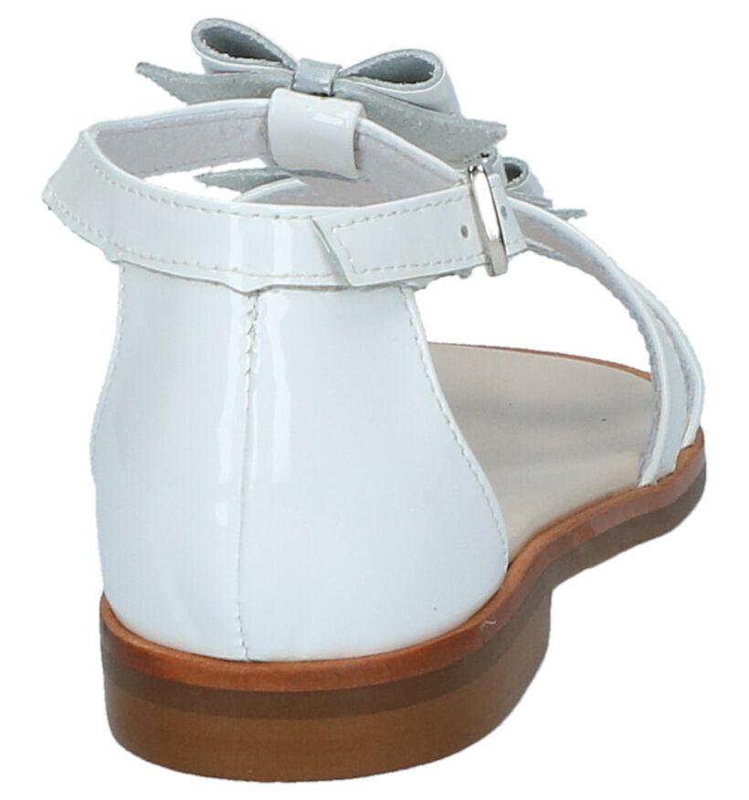 Beberlis Sandales en Blanc en cuir (216010)