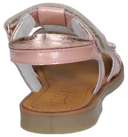 STONES and BONES Sandales en Or rose en cuir (240771)