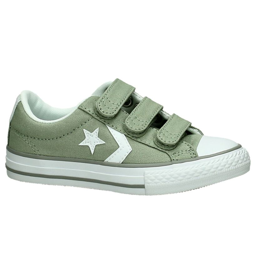 Converse Star Player Sneakers Blauw in stof (266019)