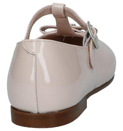 Roze Laké Ballerina's Beberlis in lakleer (245722)