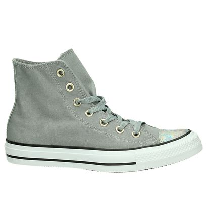 Zwarte Sneakers Converse All Star HI, Grijs, pdp