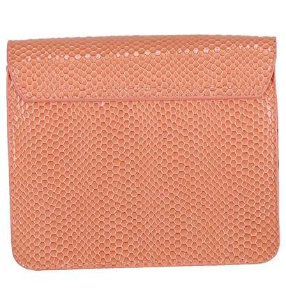 Hvisk Cayman Pocket Sac porté croisé en Rose en simili cuir (276161)
