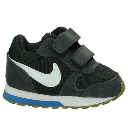 Blauwe Babysneakers Nike MD Runner, Grijs, pdp