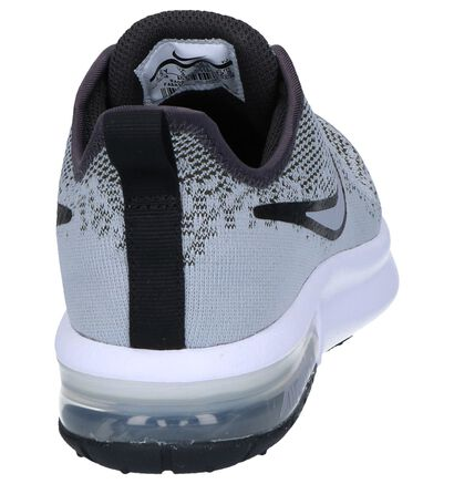 Zwarte Sneakers Nike Air Max Sequent 4 EP in stof (249818)