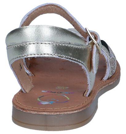 Gouden Sandalen Shoo Pom in leer (242890)