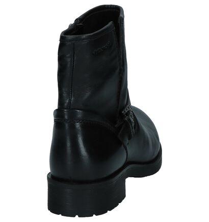 Geox Rawelle Zwarte Boots, Zwart, pdp