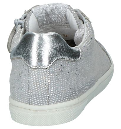 Zilveren Schoenen met Rits & Veter Fr by Romagnoli in leer (211757)