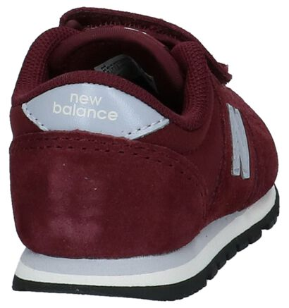 New Balance 420 Baskets basses en Bordeaux en nubuck (222846)