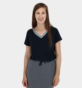 Zoso Vanessa Blauwe T-shirt korte mouwen (280359)