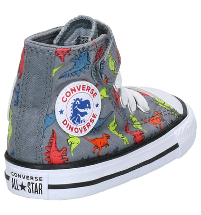 Converse Chuck Taylor AS Hi Grijze Sneakers in stof (263508)