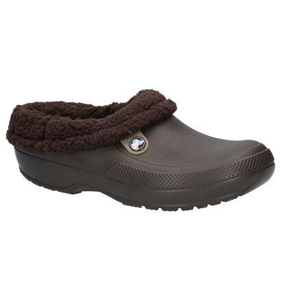 Crocs Classic Blitzen 3 Clog Bruine Pantoffels in kunststof (255774)