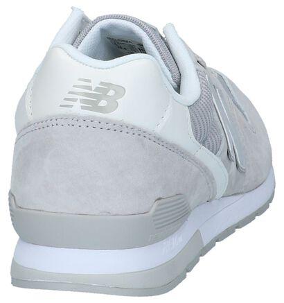 New Balance 996 Baskets basses en Gris clair en daim (220605)