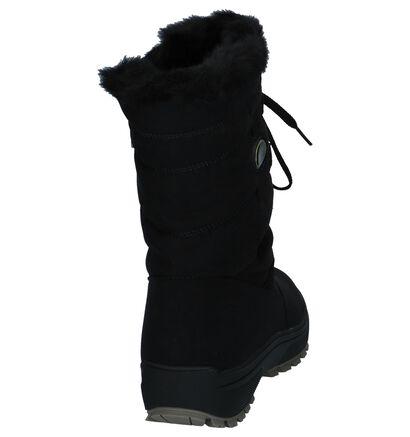 Olang Ol Nora Zwarte Snowboots in stof (233049)