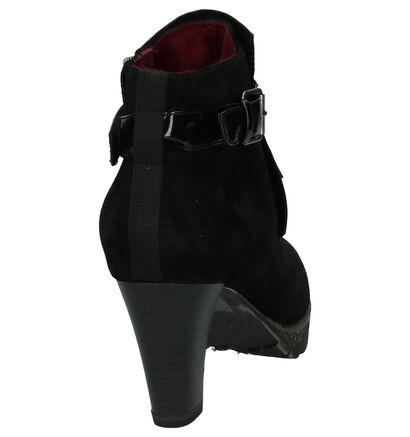 Tamaris Bottillons en Noir en cuir verni (202584)