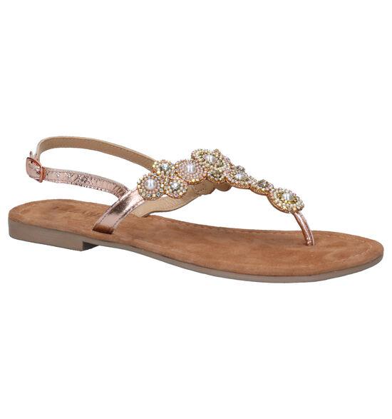 Lazamani Gouden Sandalen