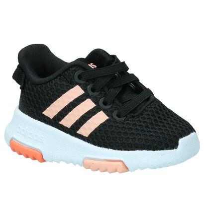 Zwarte Sneakers adidas Racer, Zwart, pdp
