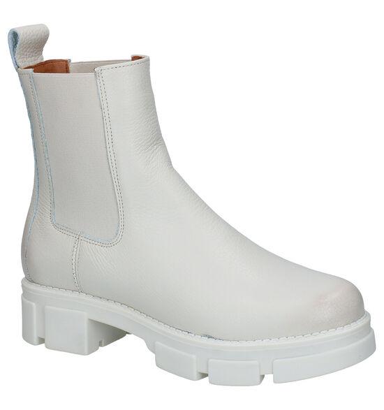 Shoecolate Ecru Chelsea Boots