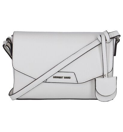 Witte Crossbody Tas Laurent David Manon in kunstleer (246408)