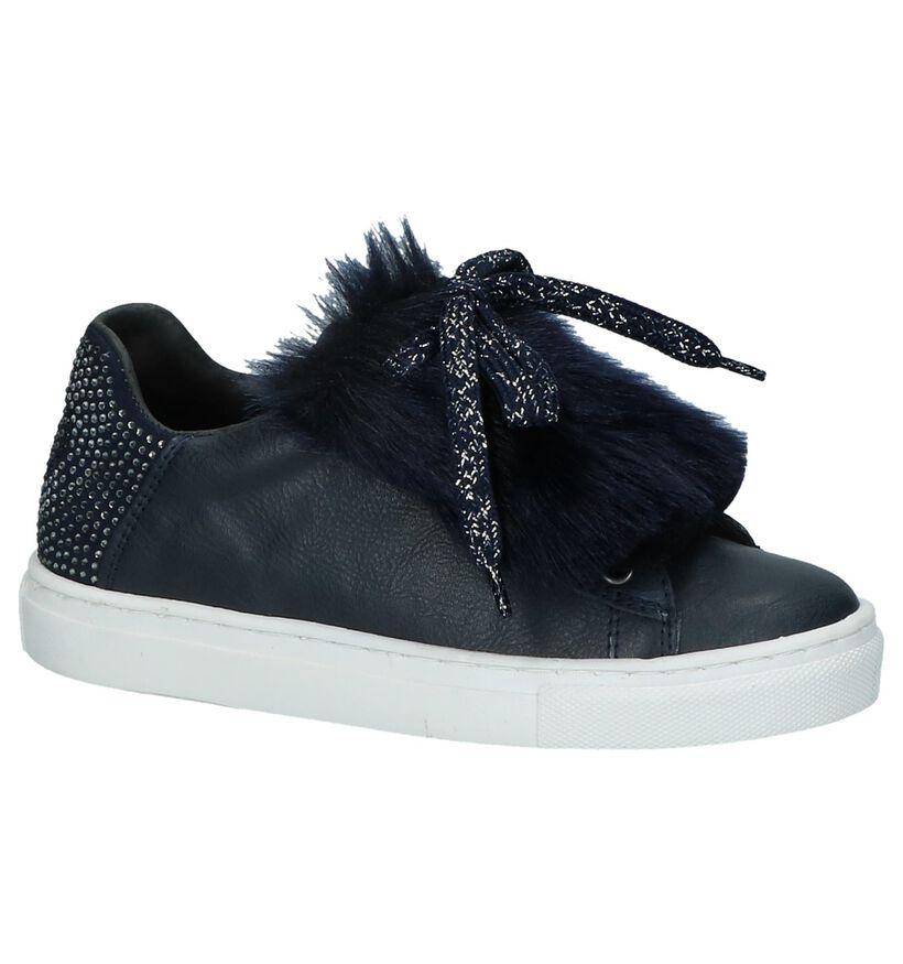 Kipling Chaussures basses en Bleu foncé en cuir (232464)