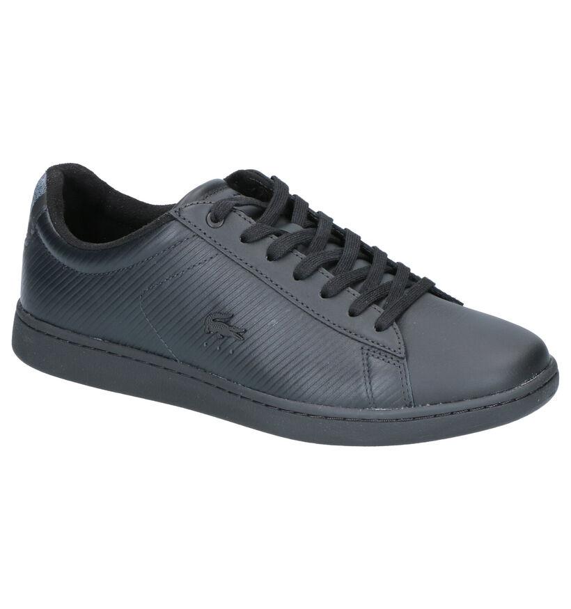 Lacoste Carnaby Evo Sneakers Zwart in leer (253440)