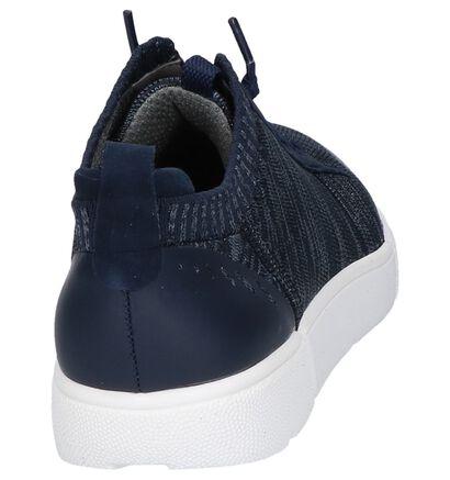 Ara Chaussures slip-on en Bleu foncé en textile (246491)