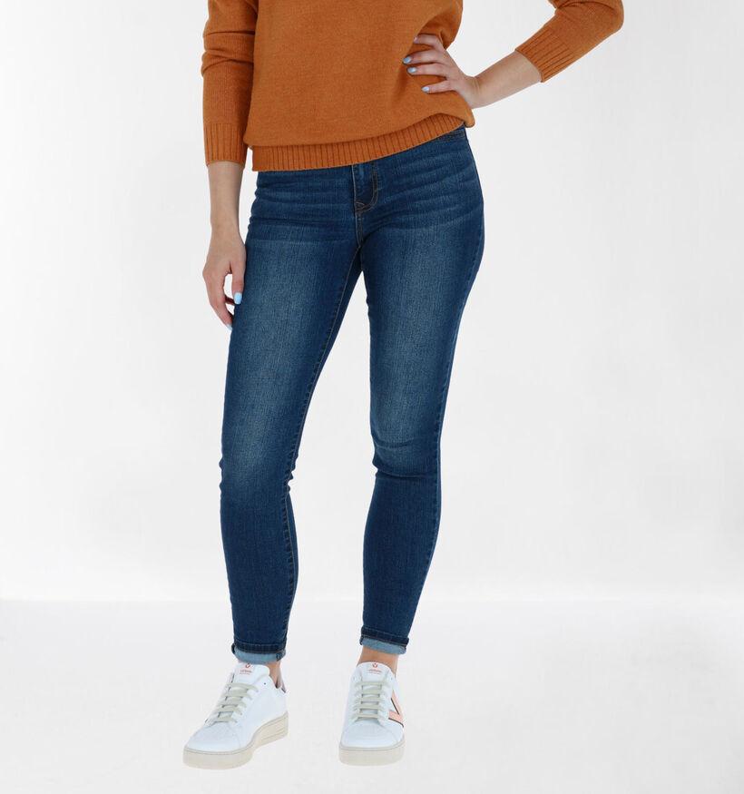 Vila Donkerblauwe Jeans (284864)