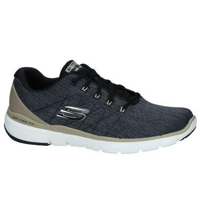 Beige Sneakers Skechers Lite-Weight in stof (247377)