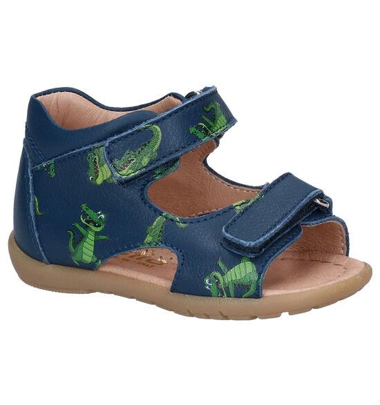 Lunella Blauwe Sandalen