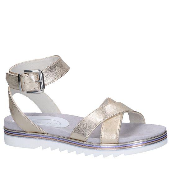 Gouden Sandalen Tine's