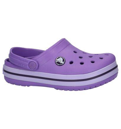 Paarse Slippers Crocs Crocband in kunststof (224391)