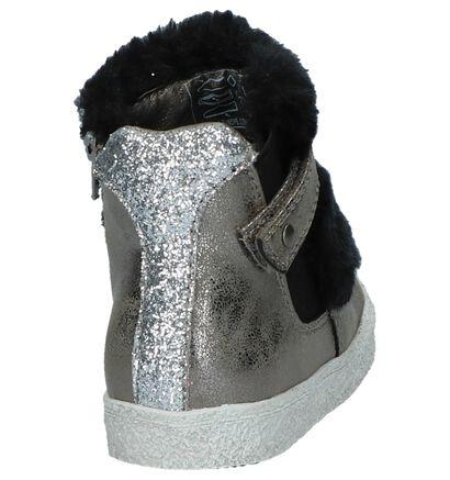 Bronzen Hoge Schoentjes K3 in faux fur (226646)