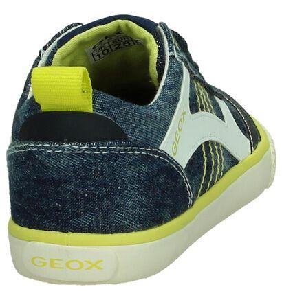Geox Baskets basses en Bleu en textile (190644)