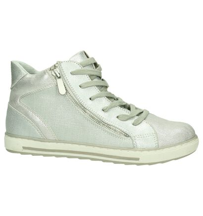 Marco Tozzi Sneakers hautes  (Argent), Argent, pdp