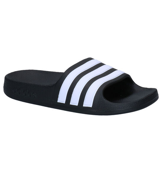adidas Adilette Aqua Claquettes de piscine en Noir
