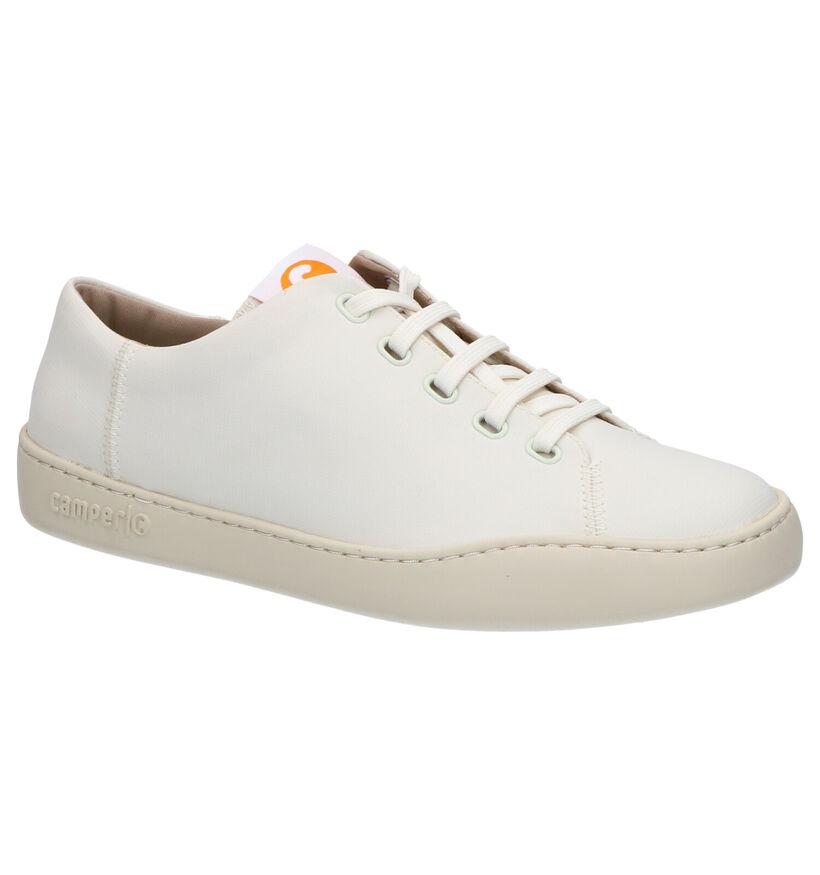Camper Chaussures basses en Beige clair en textile (272221)