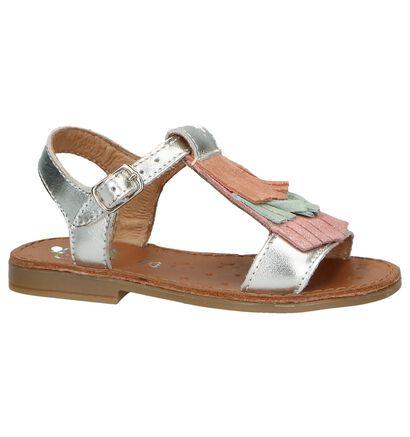 Witte Sandalen Shoo Pom, Zilver, pdp