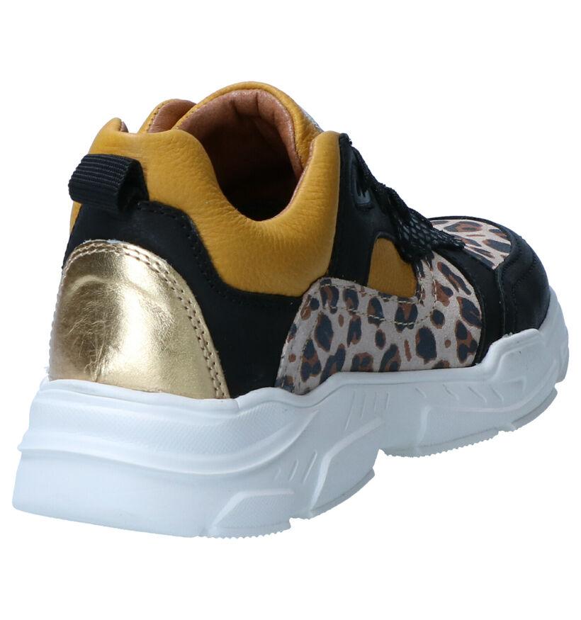 Milo & Mila Multicolor Sneakers in leer (261163)