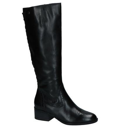 Tamaris Bottes hautes en Noir en cuir (226791)