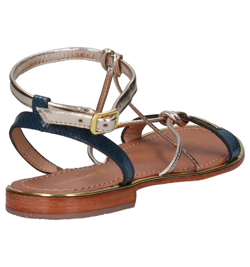 Les Tropeziennes Hirondel Gouden Sandalen in leer (274924)