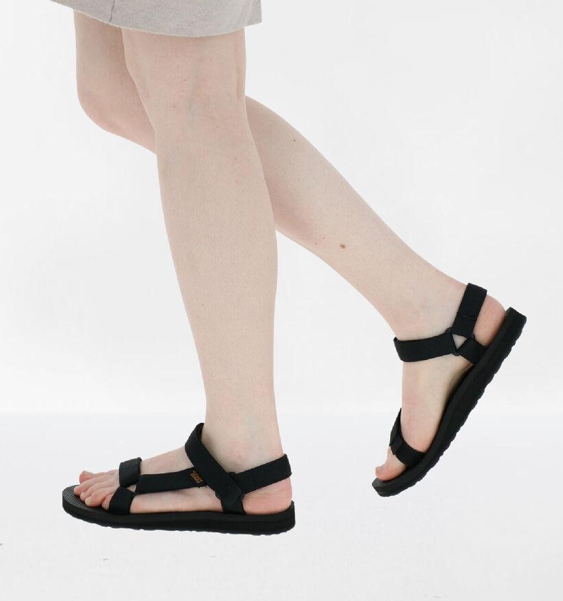 Teva K Original Universal Sandales en Noir en textile (286798)