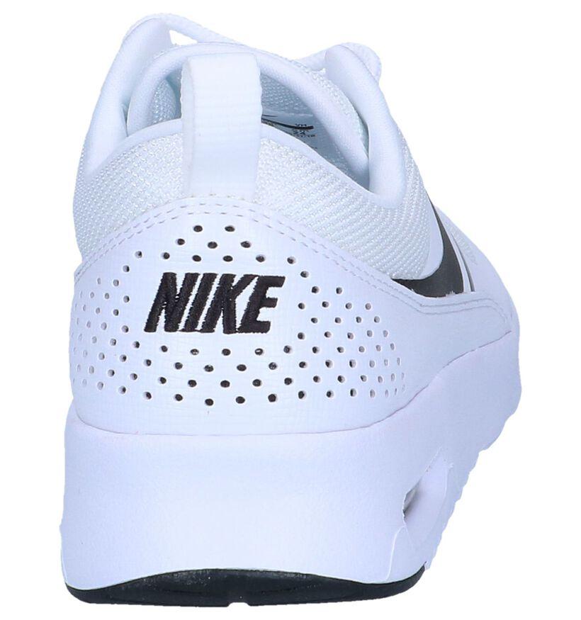 Nike Air Max Baskets basses en Noir en simili cuir (250245)