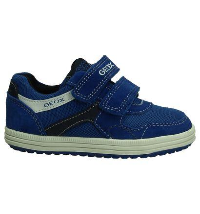 Geox Blauwe Velcroschoen, Blauw, pdp
