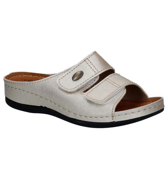 Comfort Plus Gouden Slippers