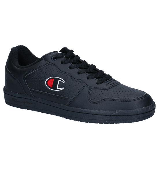 Champion Chicago Low Zwarte Sneakers