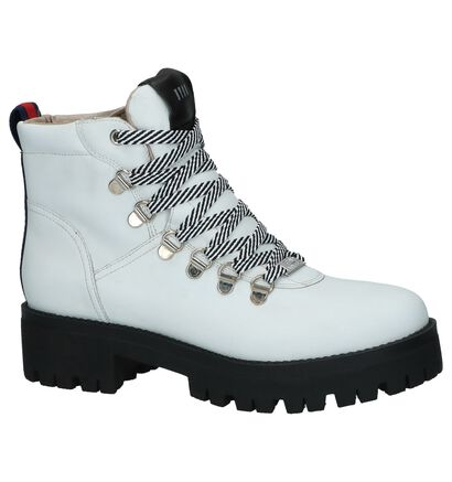 Witte Boots Steve Madden Boomer , Wit, pdp