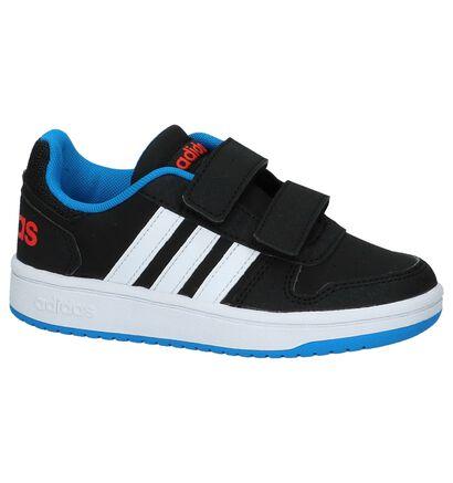 Zwarte adidas VS Hoops 2.0 Sportieve Sneakers, Zwart, pdp